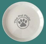 The Pet Plate blue