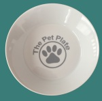 The Pet Plate Water Bowl blue